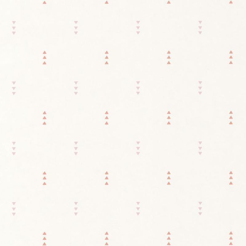 Papier peint Triangle rose corail - HAPPY DREAMS - Casadeco - HPDM82814123