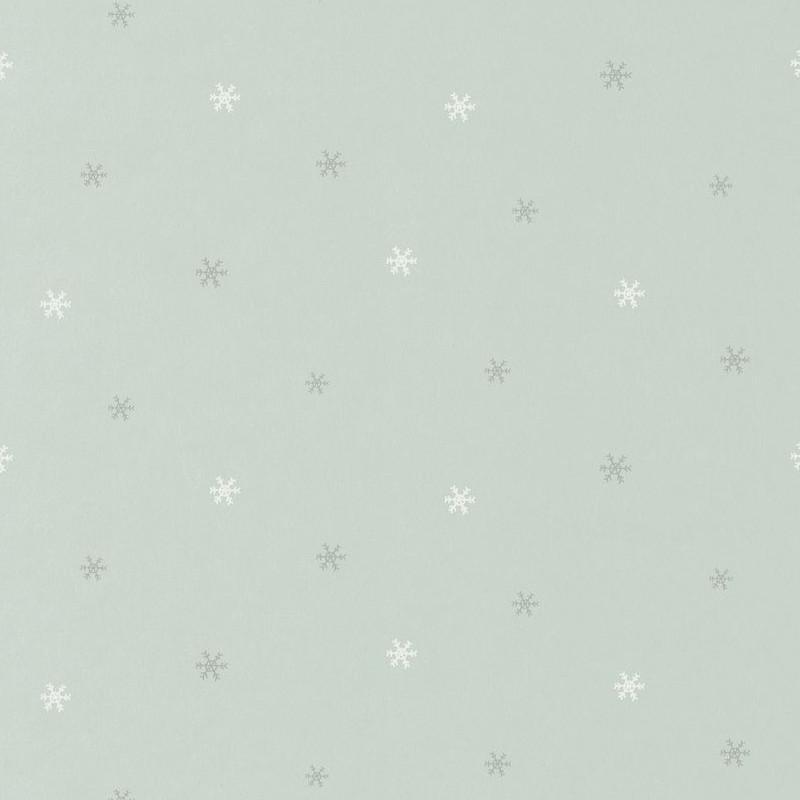 Papier peint Flocon de neige bleu - HAPPY DREAMS - Casadeco - HPDM82836127