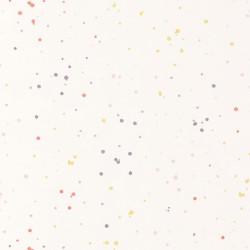Papier peint intissé enfant Splash rose corail - HAPPY DREAMS Casadeco