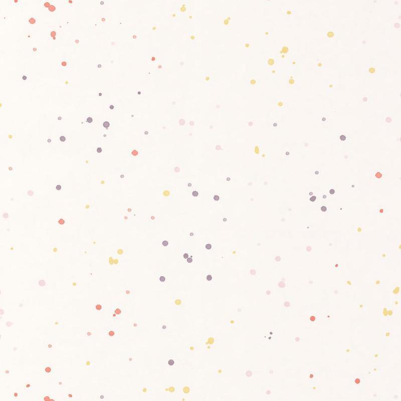 Papier peint Splash rose corail - HAPPY DREAMS - Casadeco - HPDM82854133