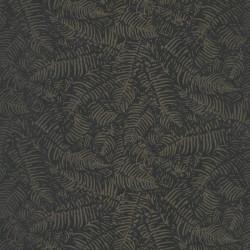 Papier peint FOUGERES noir - PANAMA- Casadeco