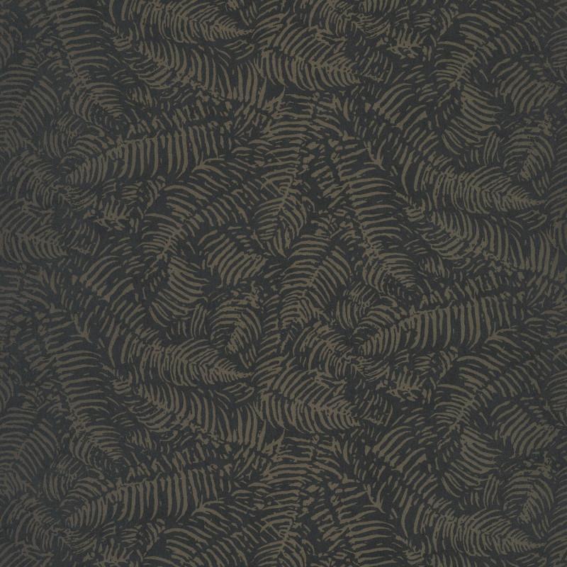 Papier peint Fougères noir - PANAMA - Casadeco - PANA81089707