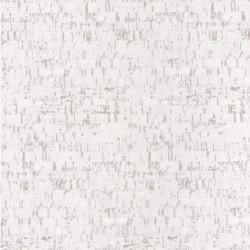 Papier peint LIEGE blanc - PANAMA- Casadeco