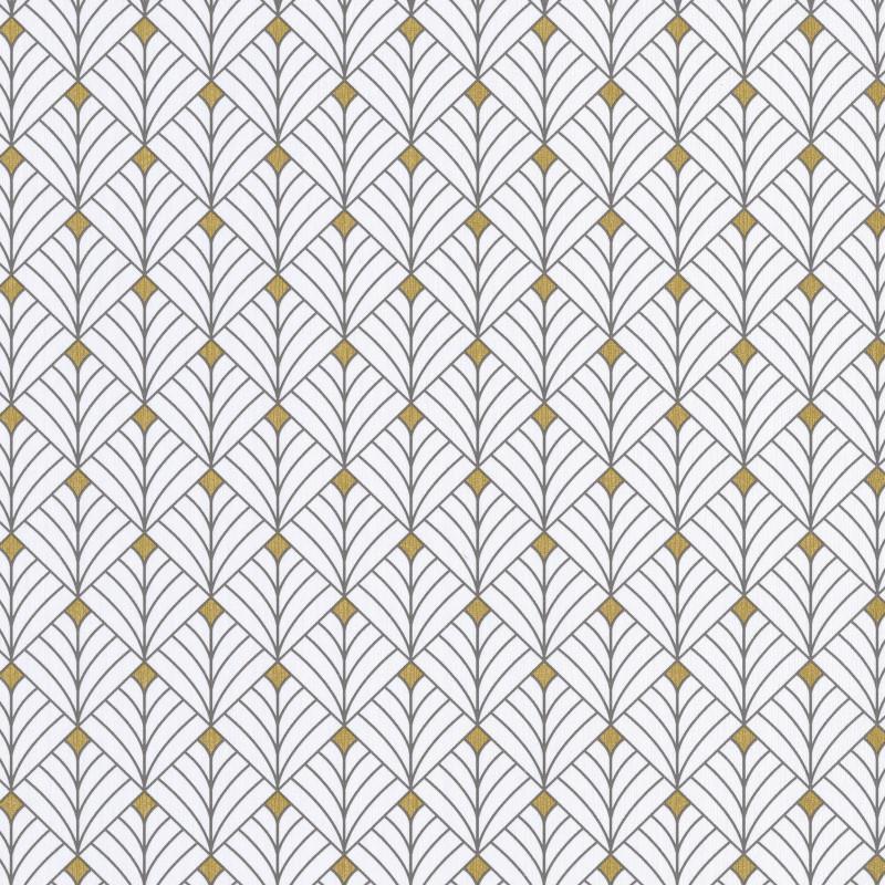 Papier peint Mistinguett noir et blanc - SCARLETT - Caselio - SRL100439025