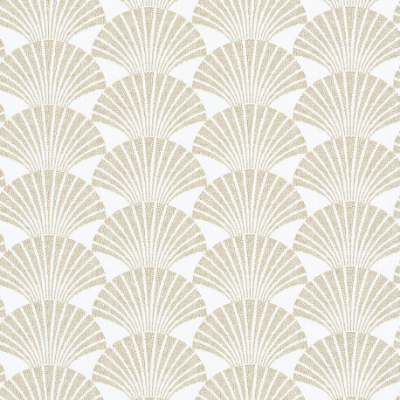 Papier peint Pearl blanc et doré - SCARLETT - Caselio - SRL100490020