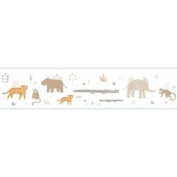 Frise enfant Savanna beige - HAPPY DREAMS - Casadeco - HPDM82881337