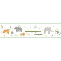 Frise enfant Savanna vert kaki - HAPPY DREAMS - Casadeco - HPDM82887332