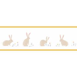 Frise enfant Bunny jaune - HAPPY DREAMS - Casadeco - HPDM82892339