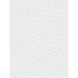 Papier peint intissé enfant Champignons gris - MY LITTLE WORLD Casadeco