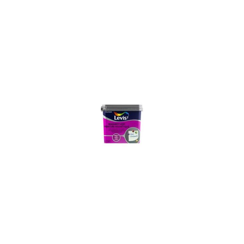 Peinture grise magnétique LEVIS - direct sans sous-couche - 0,5L