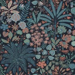 Papier peint HOPE multicolore, noir - HYGGE- CASELIO