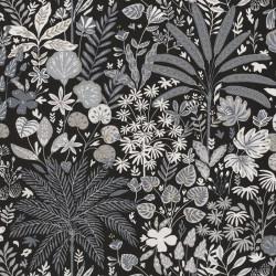 Papier peint HOPE noir, blanc, doré- HYGGE- CASELIO