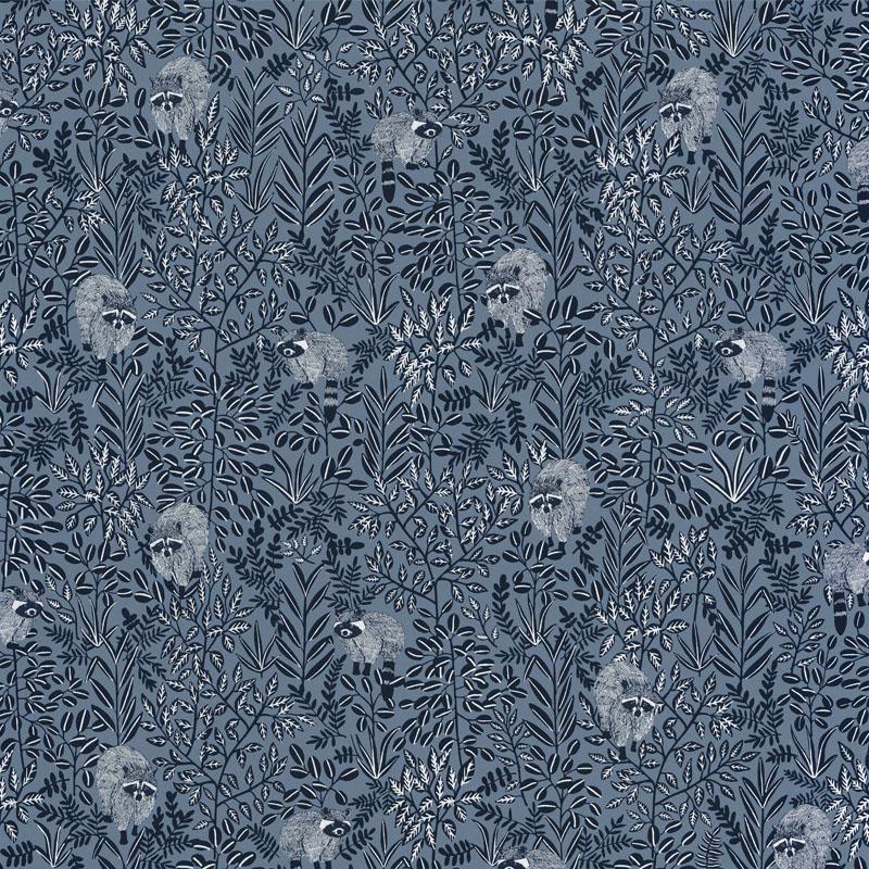 Papier peint Free Spirit bleu gris - HYGGE- Caselio - HYG100546911