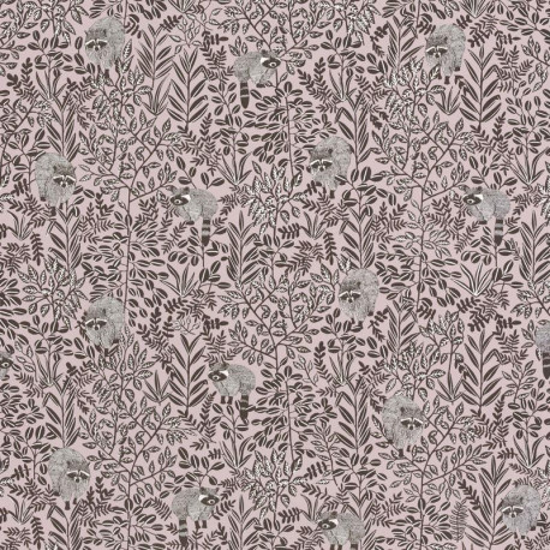 Papier peint Free Spirit vieux rose - HYGGE- Caselio - HYG100544525