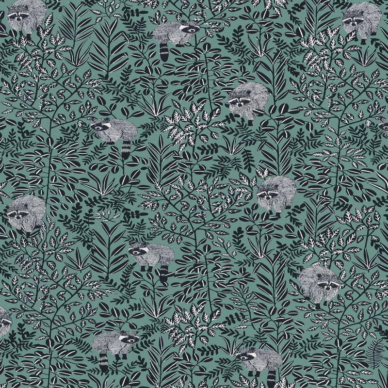 Papier peint Free Spirit vert pin - HYGGE - Caselio - HYG100547918