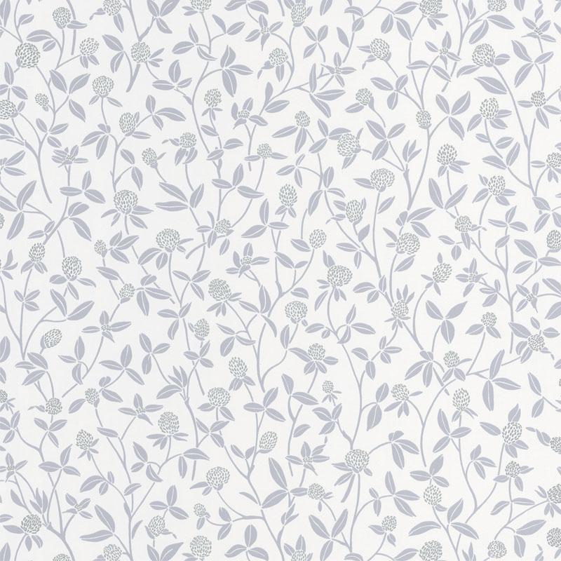 Papier peint Serenity gris doux et argenté - HYGGE - Caselio - HYG100569027