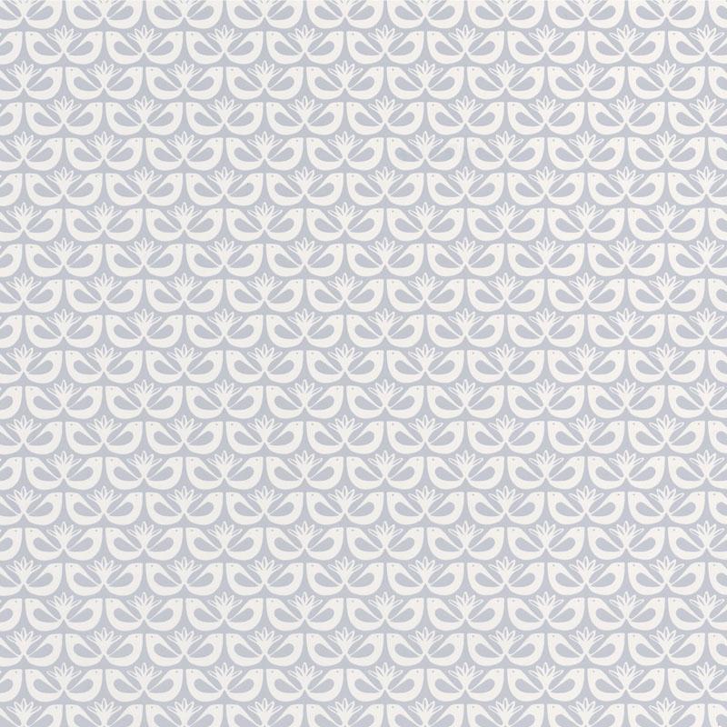 Papier peint Freedom gris doux - HYGGE - Caselio - HYG100589126