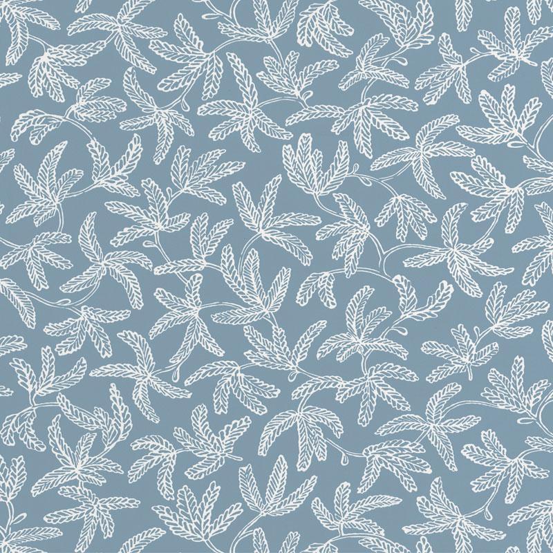 Papier peint Cocoon bleu celeste - HYGGE - Caselio - HYG100576000