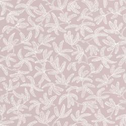Papier peint COCOON vieux rose - HYGGE- CASELIO