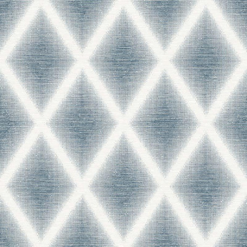 Papier peint Kirana bleu - TERENCE CONRAN - Lutèce - TC25254