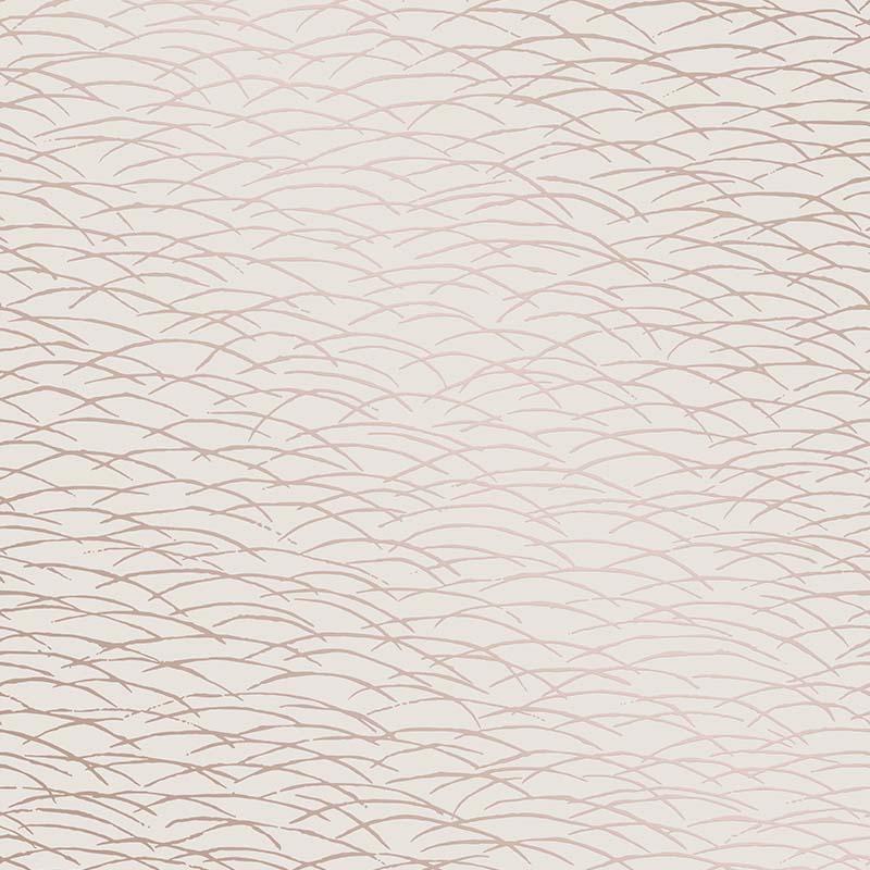 Papier peint Hono rose, gold - TERENCE CONRAN - Lutèce - TC25244