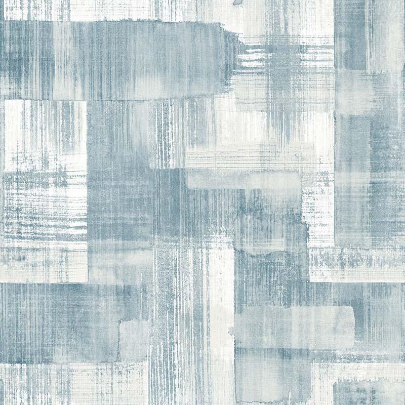 Papier peint Trosa bleu - TERENCE CONRAN - Lutèce - TC25226