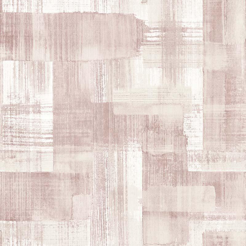 Papier peint Trosa rose - TERENCE CONRAN - Lutèce - TC25228