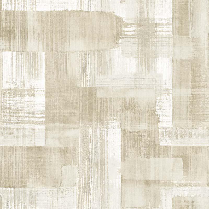 Papier peint Trosa beige - TERENCE CONRAN - Lutèce - TC25229