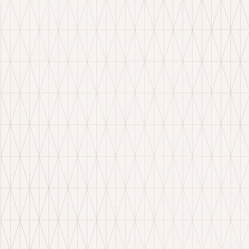 Papier peint Tofta blanc et violet doré - TERENCE CONRAN - Lutèce - TC25215