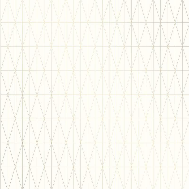 Papier peint Tofta crème et or - TERENCE CONRAN - Lutèce - TC25212