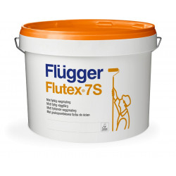 Peinture velours FLUTEX 7S blanche Ecolabel - Mur et plafond - FLUGGER