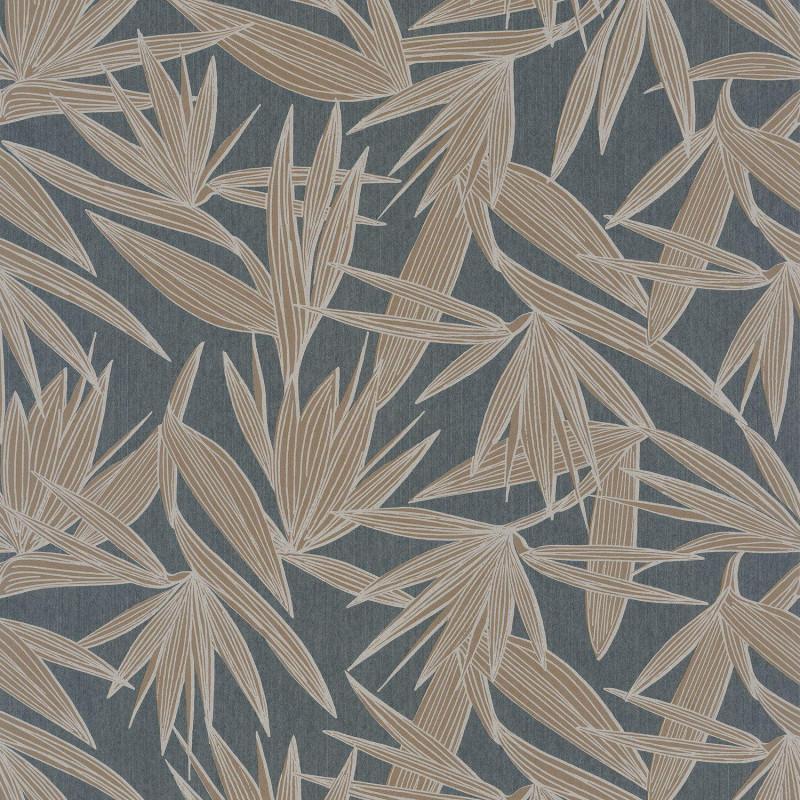 Papier peint Alizarine gris fusain - PORTFOLIO - Casamance - 73960344