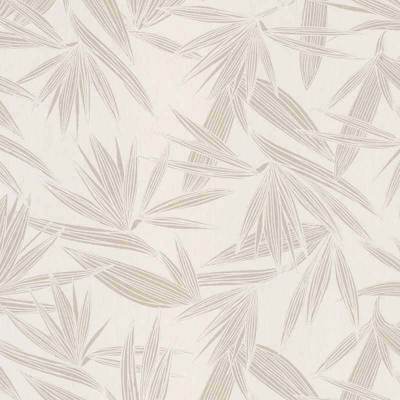 Papier peint Alizarine neige poudré - PORTFOLIO - Casamance - 73960140