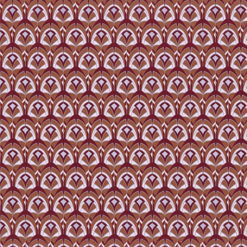 Papier peint Gemmail roux - PORTFOLIO - Casamance - 74000394
