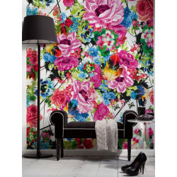 Panoramique ROMANTIC POP collection Floral - Komar