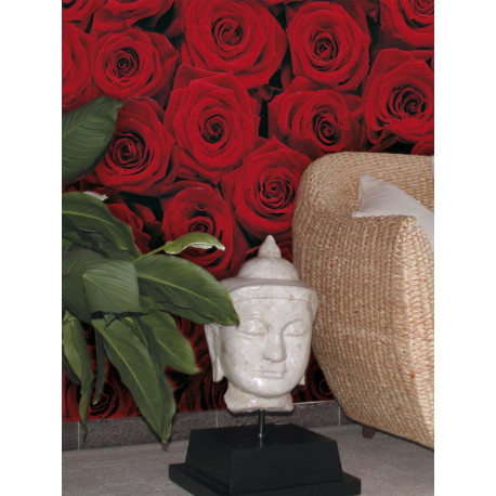 Panoramique ROSES collection Floral - Komar