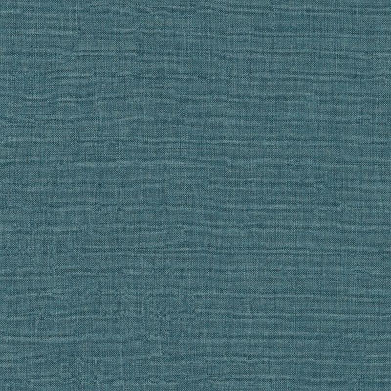 Papier peint Linen Uni bleu - LINEN - Caselio - LINN68526378
