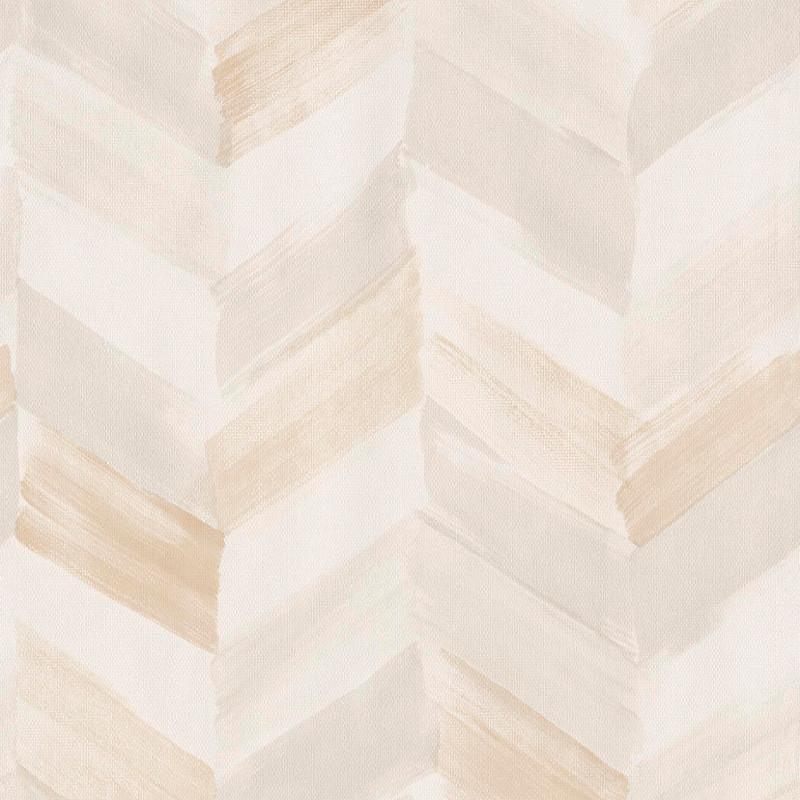 Papier peint Chevrons beige - INSPIRATION WALL - Grandeco - IW2101