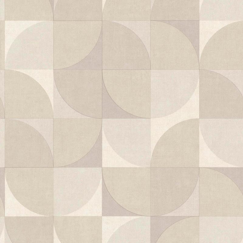 Papier peint Hélice gris - INSPIRATION WALL - Grandeco - IW3402