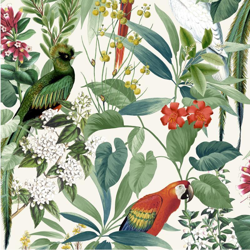 Papier peint Martinique Tropical multicolore - ESCAPADE - Ugepa - 576204-L76204