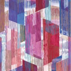 Panoramique intissé VILMA bleu - Collection NOVA - Casadeco