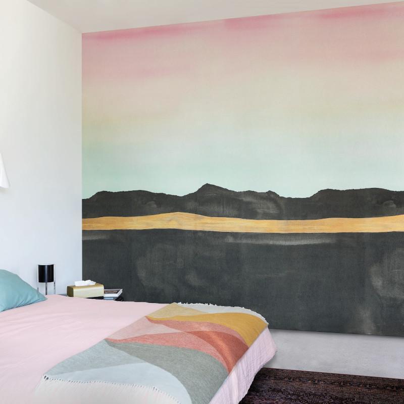 Panoramique Aurore multicolore - IDYLLE - Casadeco - IDYL8395
