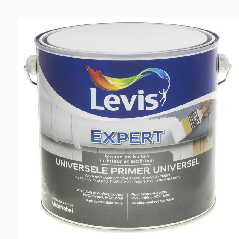 """Peinture Primaire """"EXPERT"""" Universel blanc  - 2,5L - LEVIS"""