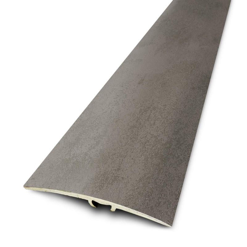 2,70mx41mm - Barre de seuil Finition minérale Béton - fixation invisible multi-niveaux plaxés Dinafix  - DINAC