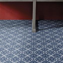 Revêtement PVC - Largeur 4m - Cosytex Coventry 770D bleu - Beauflor
