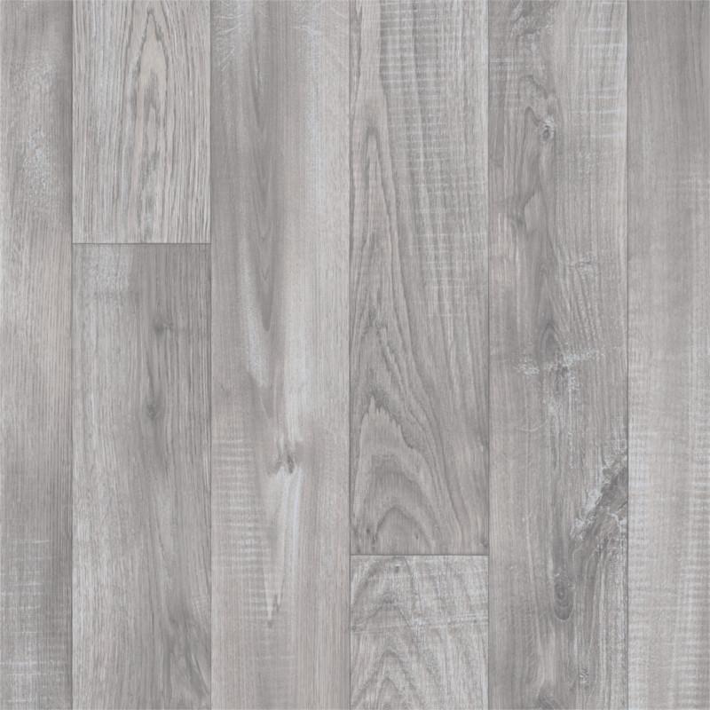 Sol PVC - Alba 793 parquet gris clair - Eliot IVC - rouleau 3M