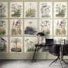 Panoramique intisssé herbarium - Collection ENCYCLOPEDIA - CASADECO