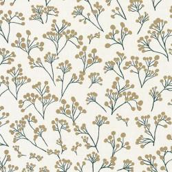 Papier peint Poppy vert et or - SUNNY DAY - Caselio - SNY100257130