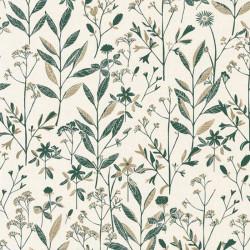 Papier peint Laura vert or - SUNNY DAY - Caselio - SNY100267103