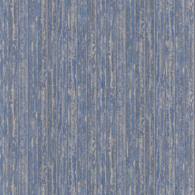 Papier peint Bordage bleu - RIVAGE - Casadeco - RIVG83996129
